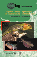 Agamid Lizards of Southern Asia